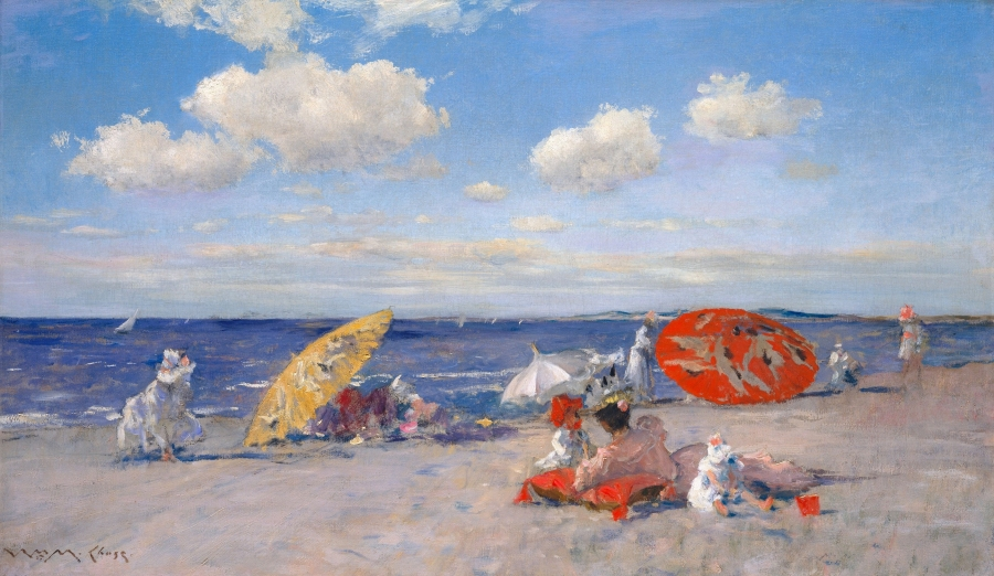 At the Seaside by W. Merritt Chase